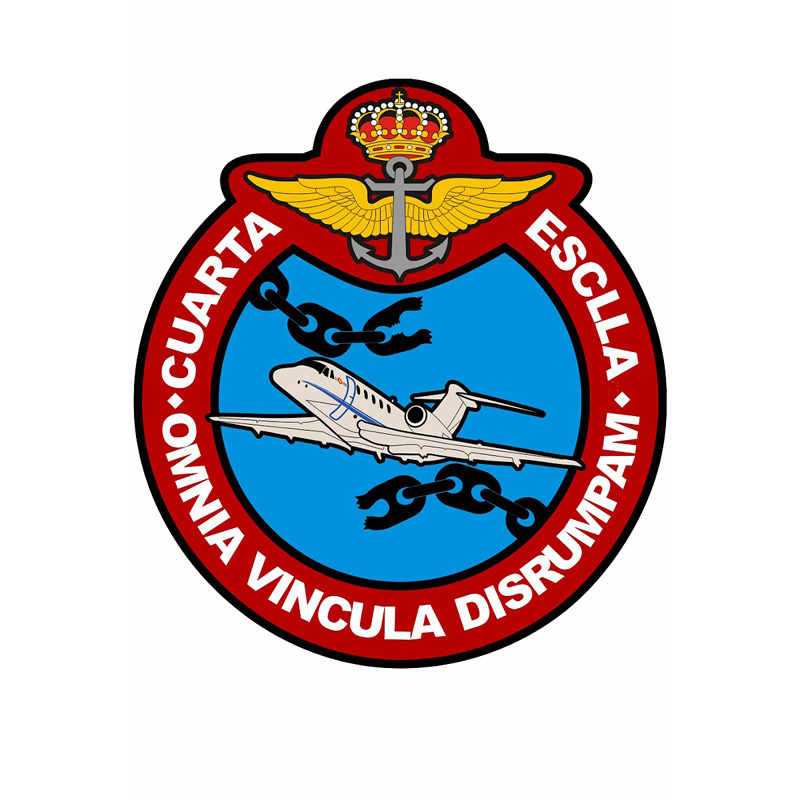 4th Aircraft Squadron Coat of Arms