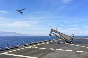 Launching of a ScanEagle