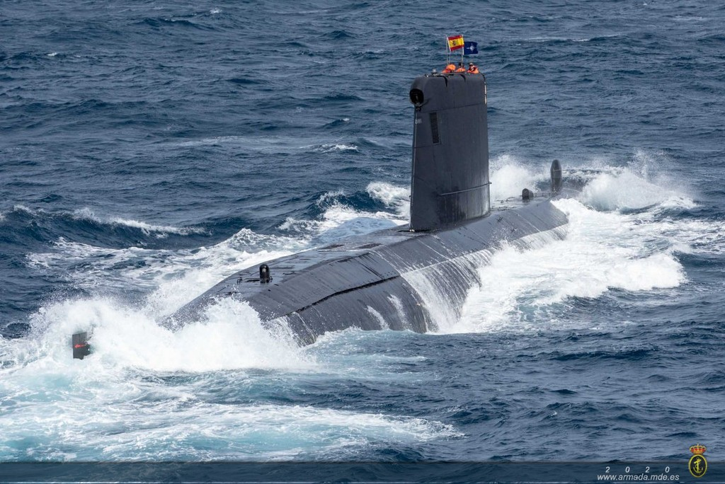OP. SEA GUARDIAN.- Submarino