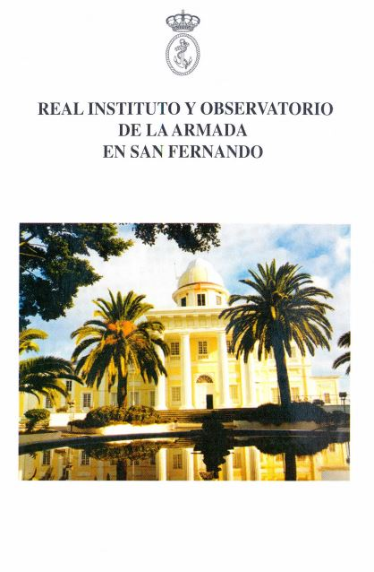 Folleto Real Observatorio de la Armada