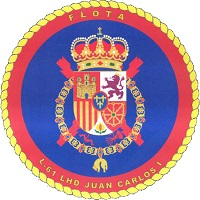 "LHD ""Juan Carlos I"" Coat of Arms"