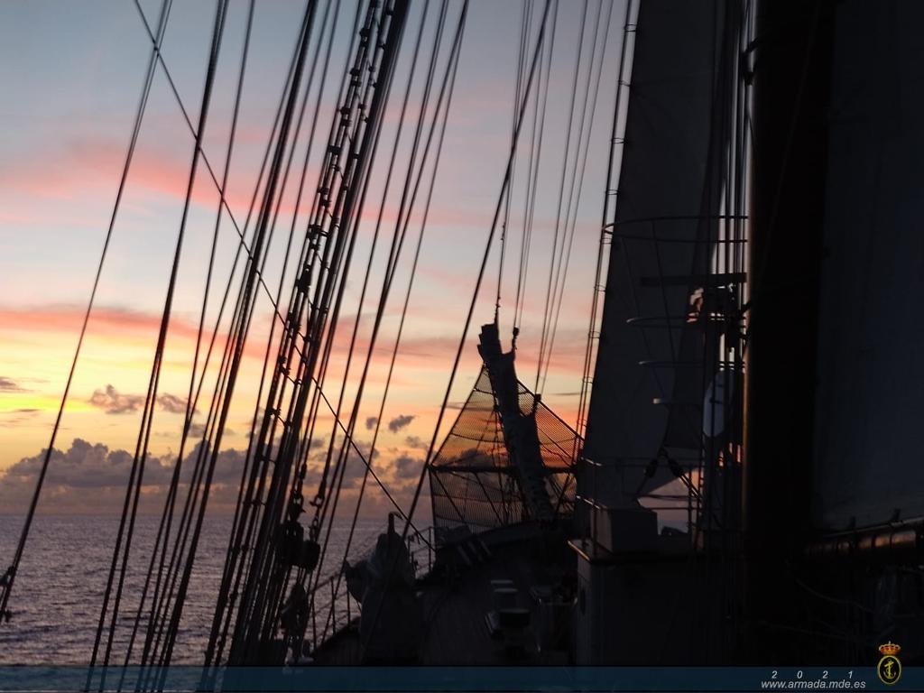 XCIII Crucero de Instrucción.- Buque Escuela 'Juan Sebastián de Elcano'