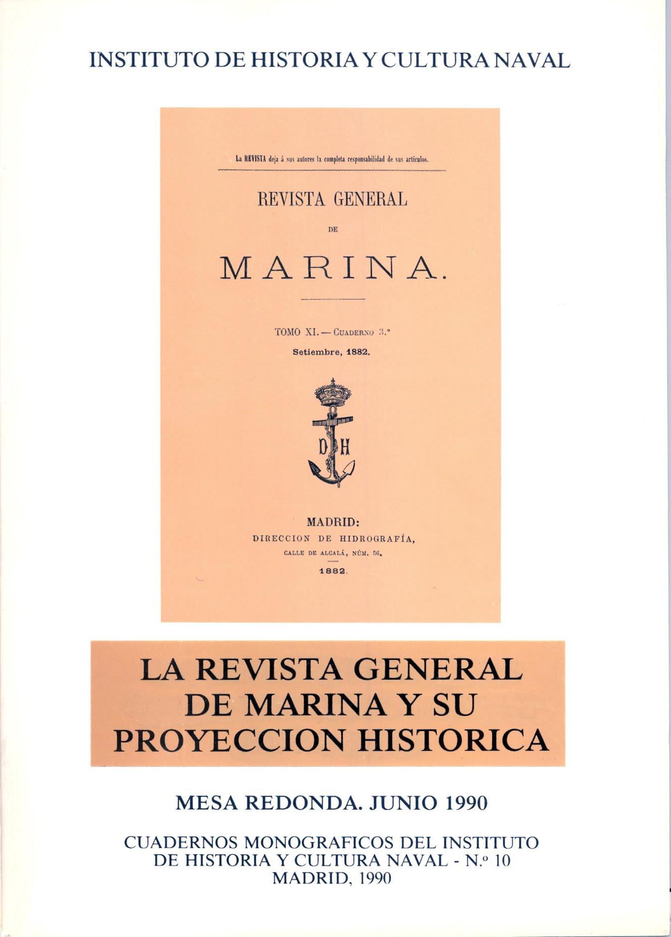 La Revista General de Marina y su proyección histórica