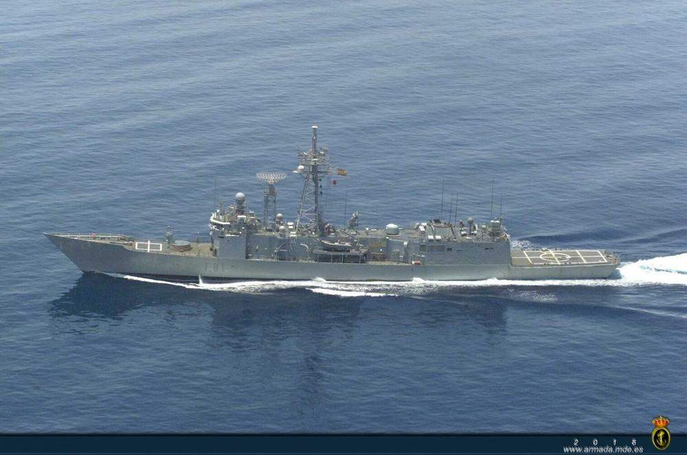 Resultado de imagen de fragata F-81 'Santa María'