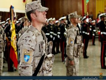 The 'Tercio de Armada' welcomed the Spanish Marines after their deployment in Afghanistan