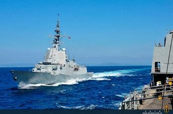 La 'Cristóbal Colón' realizó pruebas de certificación con la US Navy