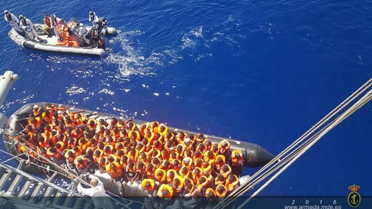 El sábado fueron un total de 397 las personas rescatadas