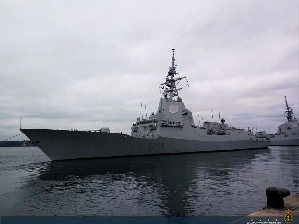 La fragata 'Méndez Núñez' se incorpora de nuevo a la SNMG-1