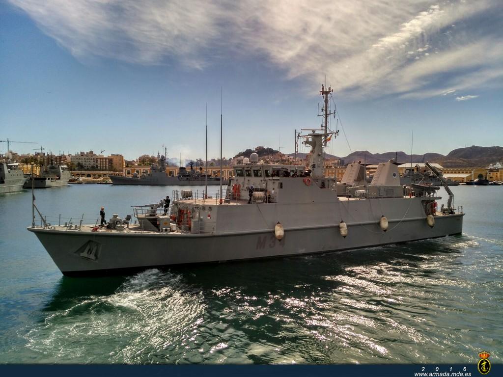 El Turia estuvo integrado en la Agrupación de la OTAN SNMCMG-2