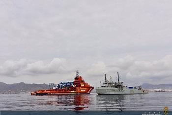 Se ha producido una estrecha colaboración con Salvamento Marítimo
