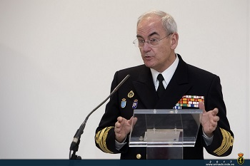 Admiral Teodoro Esteban López Calderón, Chief of the Spanish Navy.