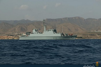 Minehunter 'Duero' has returned home.