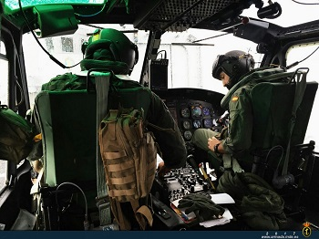 MAES pilots during the training exercises