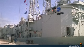 The 'Victoria' in Rota Naval Base