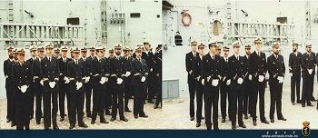 Commissioning of frigate 'Victoria'