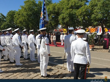 The Spanish Navy celebrates the 500 anniversary of the first circumnavigation of the globe.
