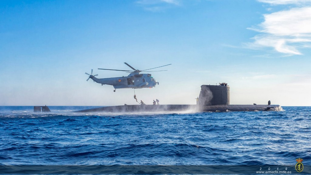 The Spanish Navy FGNE concludes a series of training drills.