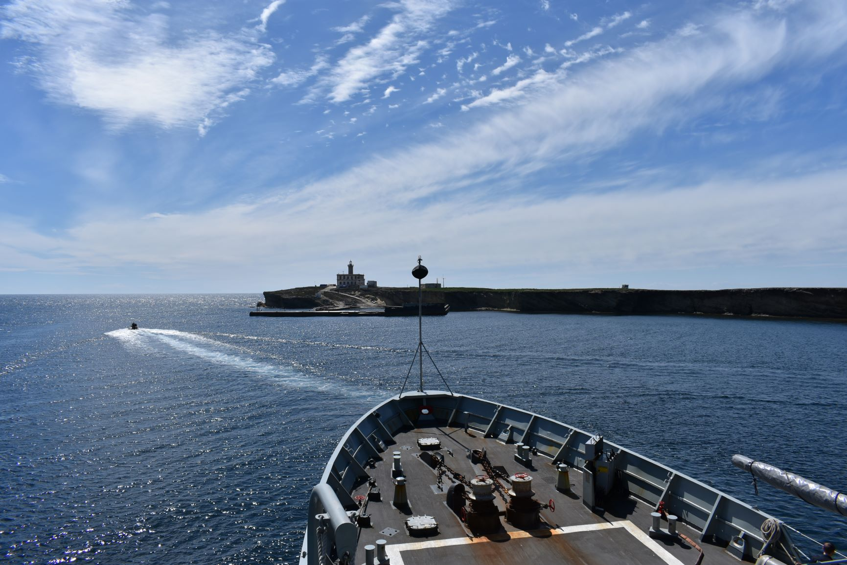 "High-altitude patrol boat ""Atalaya"""