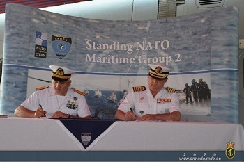 Change of Command of Standing NATO Maritime Group 2 (SNMG2)