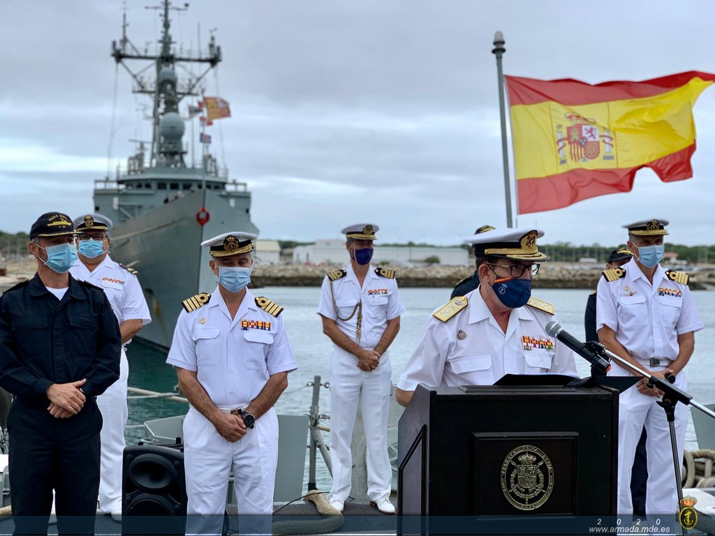 Frigate 'Reina Sofía' to participate in Operation 'Atalanta' in the Indian Ocean.