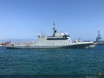 OPV 'Tornado' deploys in the West African coast and the Gulf of Guinea.