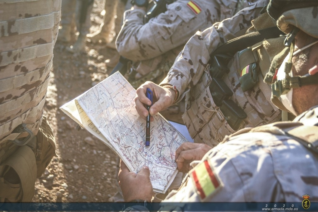 The Marine Corps Brigade wraps up a Field Training exercise in Viator (Almería)