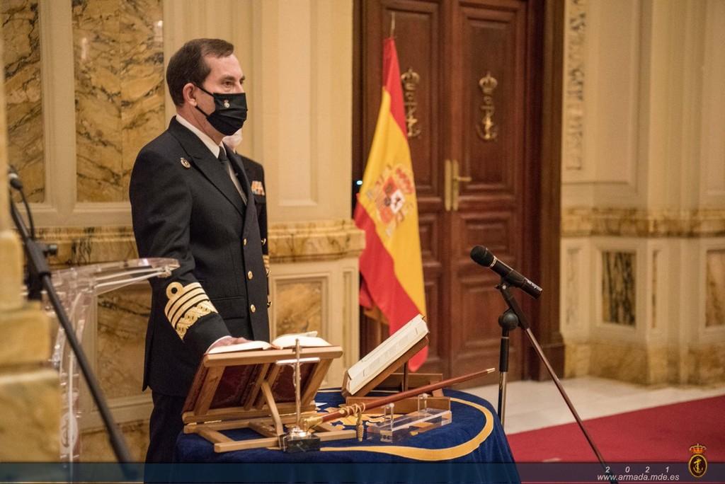El almirante general Antonio Martorell toma posesión como nuevo Almirante Jefe de Estado Mayor de la Armada
