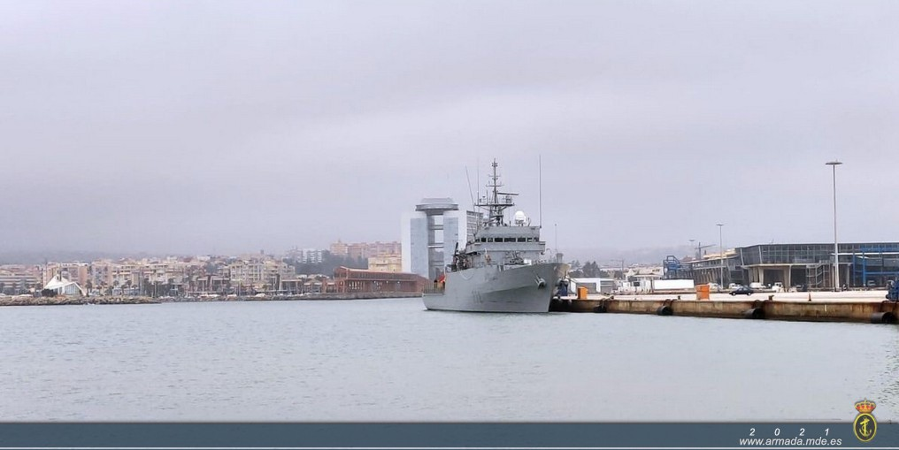 The offshore patrol vessel 'Centinela' returns home after completing her second Maritime Security Operation (MSO) this year.