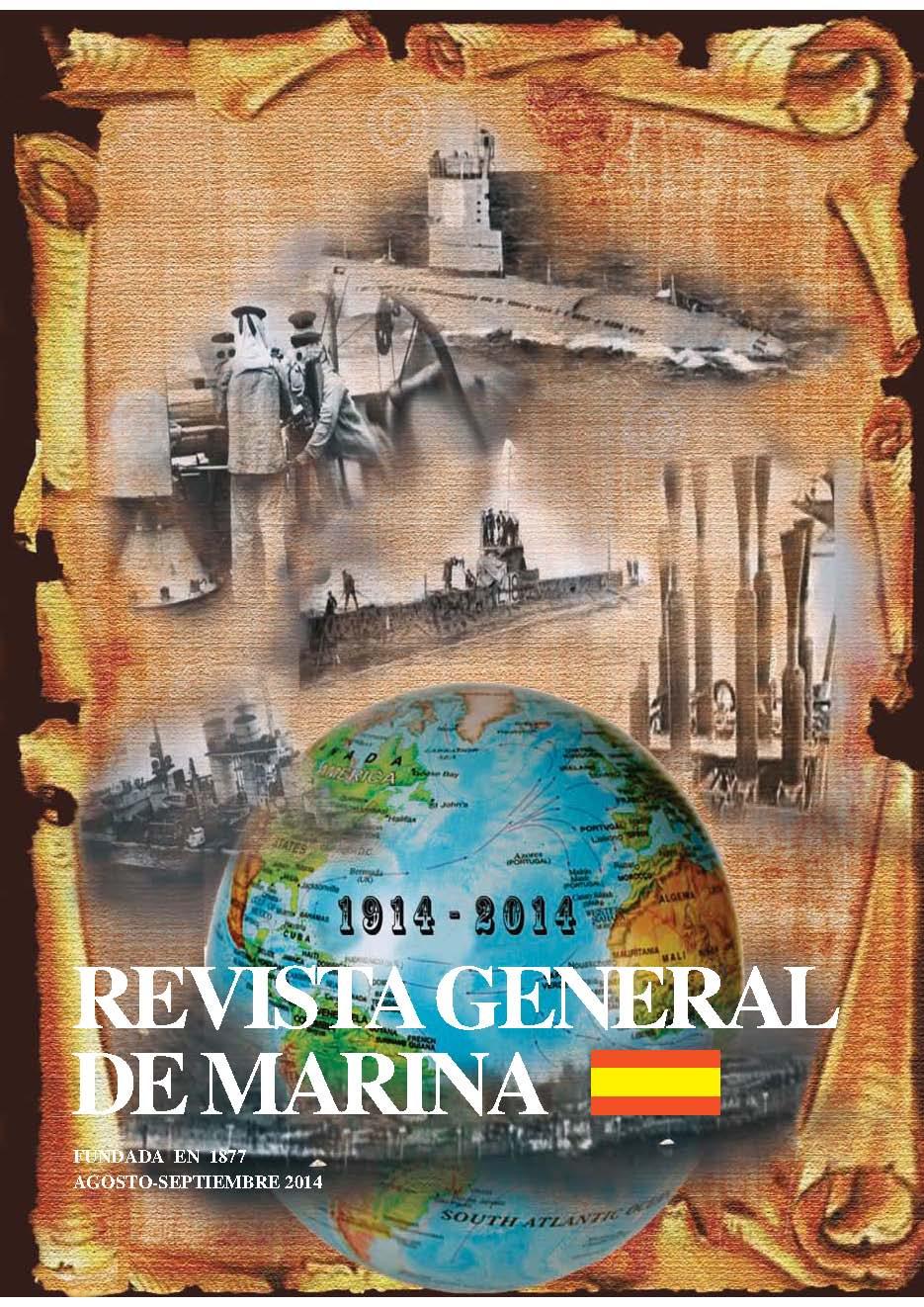 Revista General de Marina Agosto/Septiembre 2014