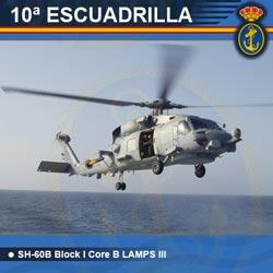 10ª Escuadrilla de Aeronaves - SH-60B Block I Core B LAMPS III