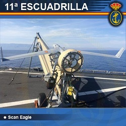 11ª Escuadrilla de Aeronaves - Scan Eagle