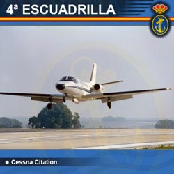 4ª Escuadrilla de Aeronaves - Cessna Citation