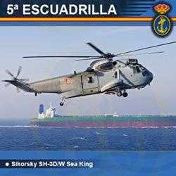5ª Escuadrilla de Aeronaves - SH-3D/W