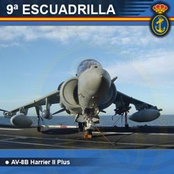 9ª Escuadrilla de Aeronaves - AV-8B Plus Harrier II