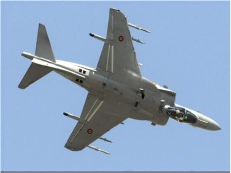 Acto Militar demostración Aérea (Rota).