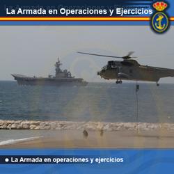 Galería de la Armada en operaciones y ejercicios