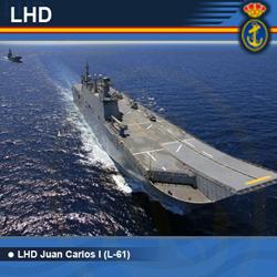 Galería del LHD Juan Carlos Primero