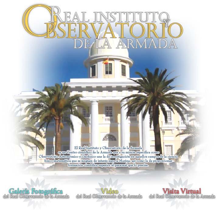 Presentación Real Instituto y Observatorio de la Armada
