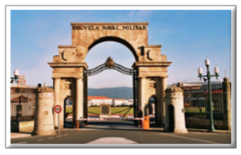 Entrada principal Escuela Naval Militar